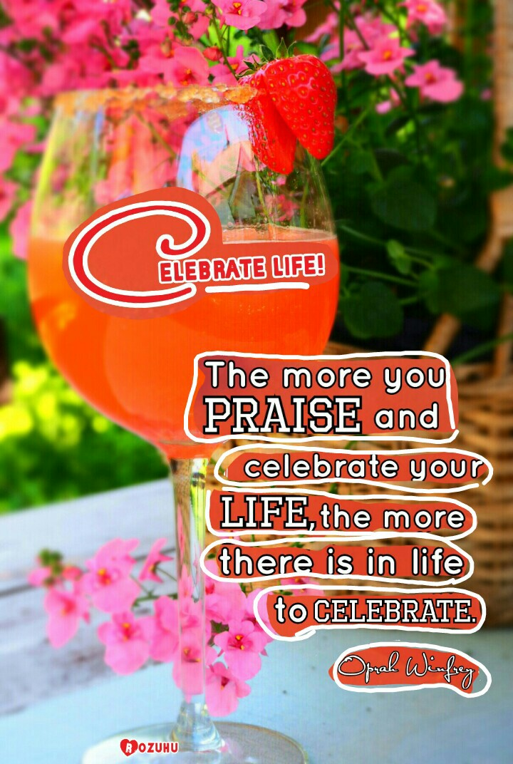 Celebrate Life my friends, there is always something to be happy about (sometimes just a very small thing but still...) ❤