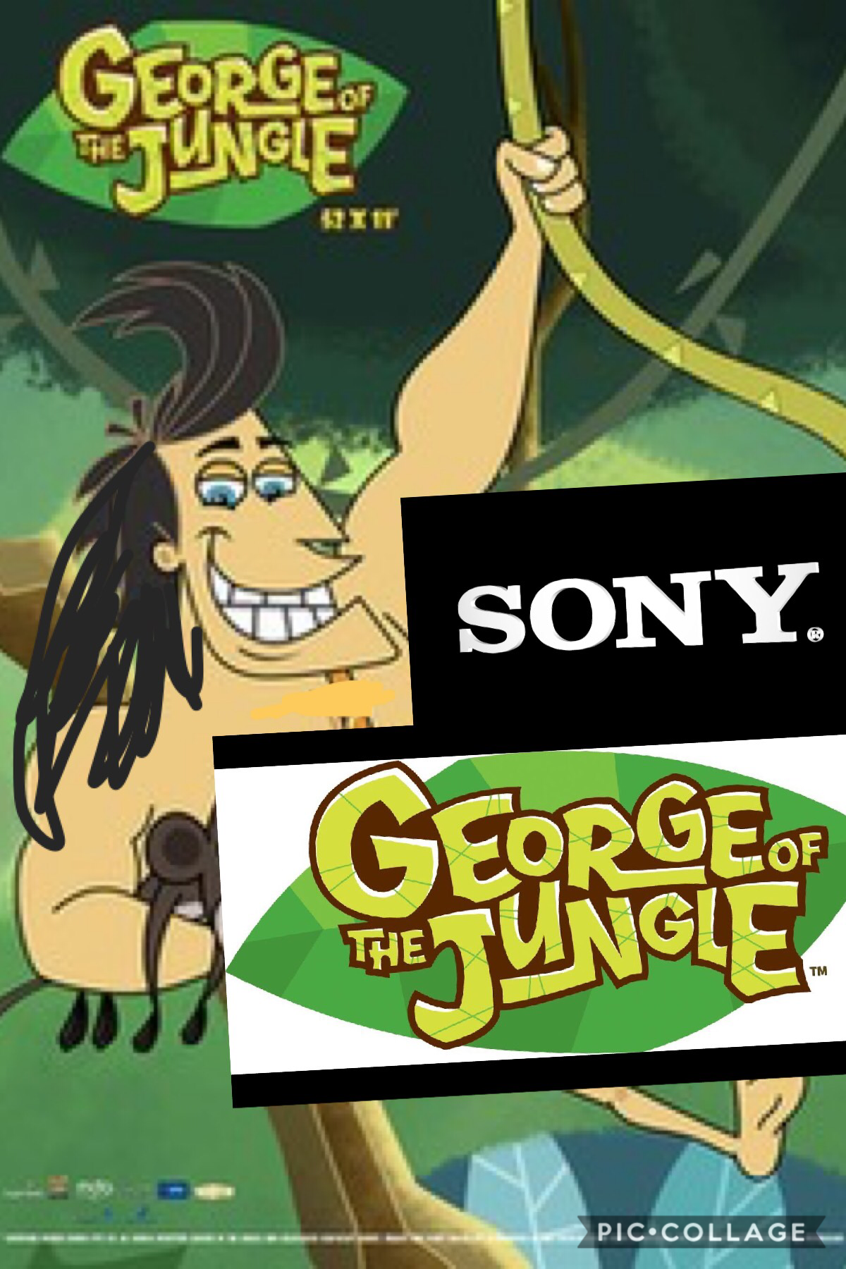 Sony presents: George of the Jungle: The movie!   This is a Singapore and Hollywood scale finale of my favourite Canadian tv series, which is a reboot of the Jay Ward Original.