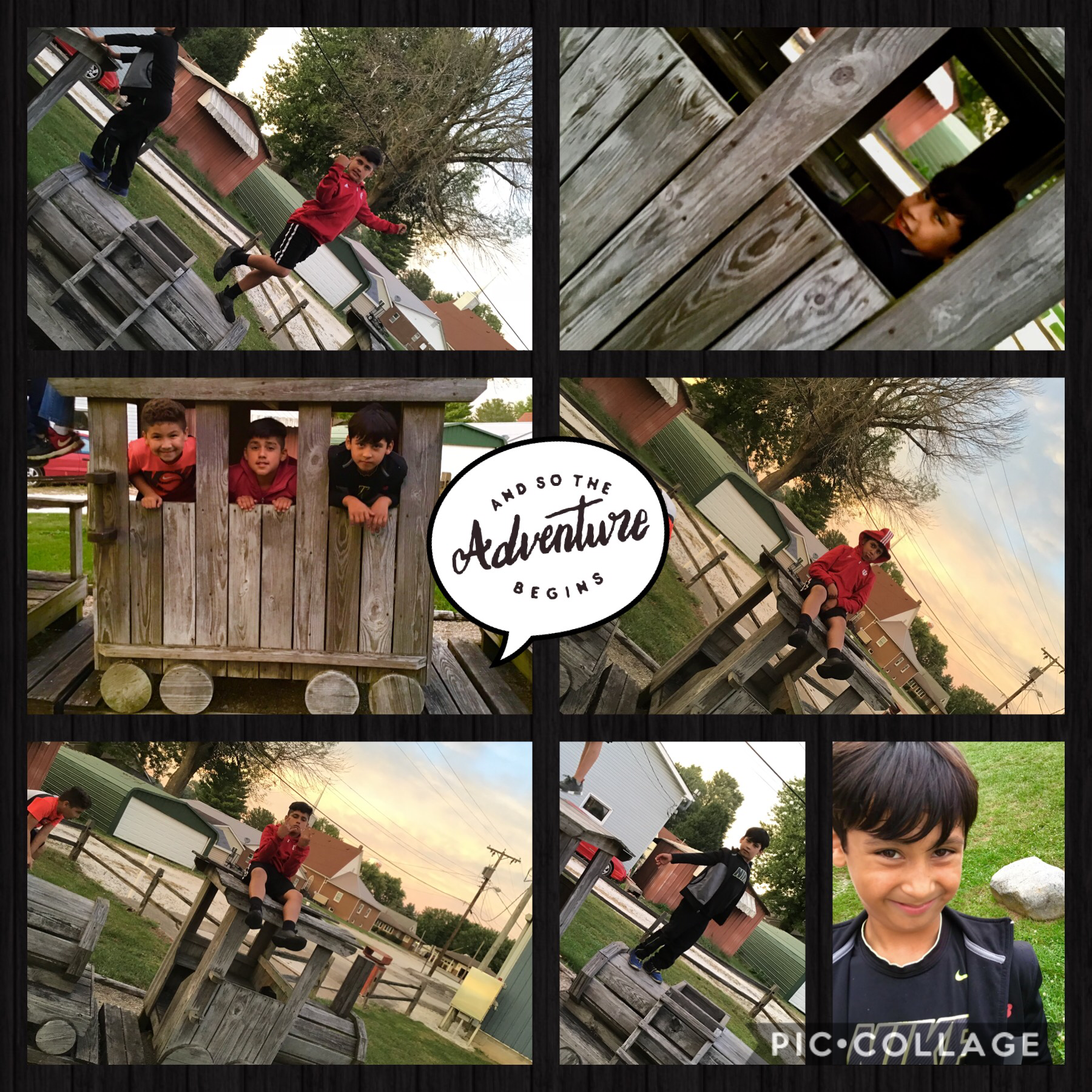 !!!Click!!! Hi guys I now I don't post a lot but 'This is a collage of my friends we had                 an awesome day!