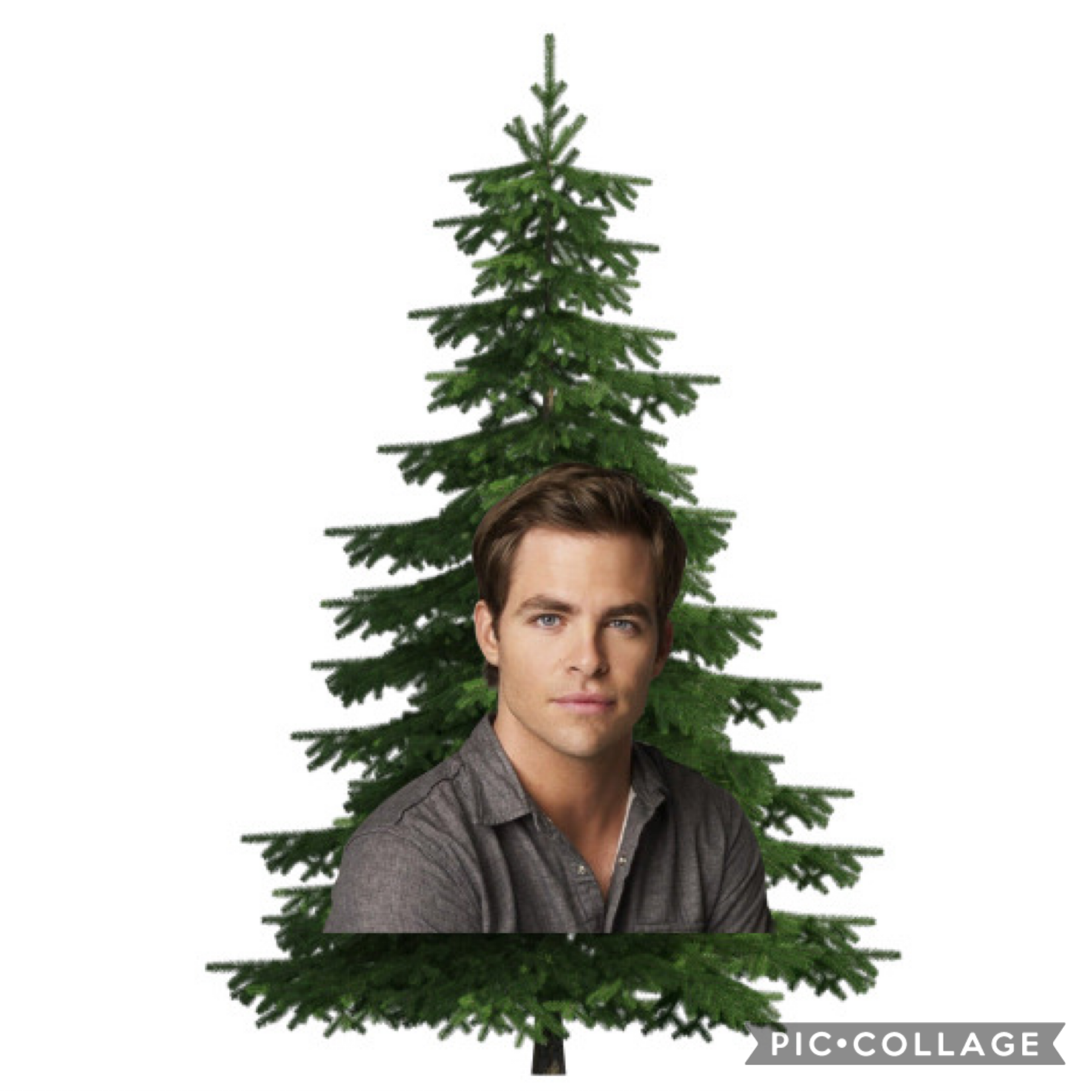 also merry late christmas;) it's a chris pine