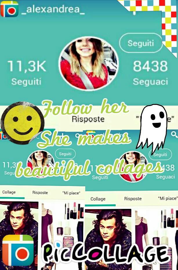 Follow her :)