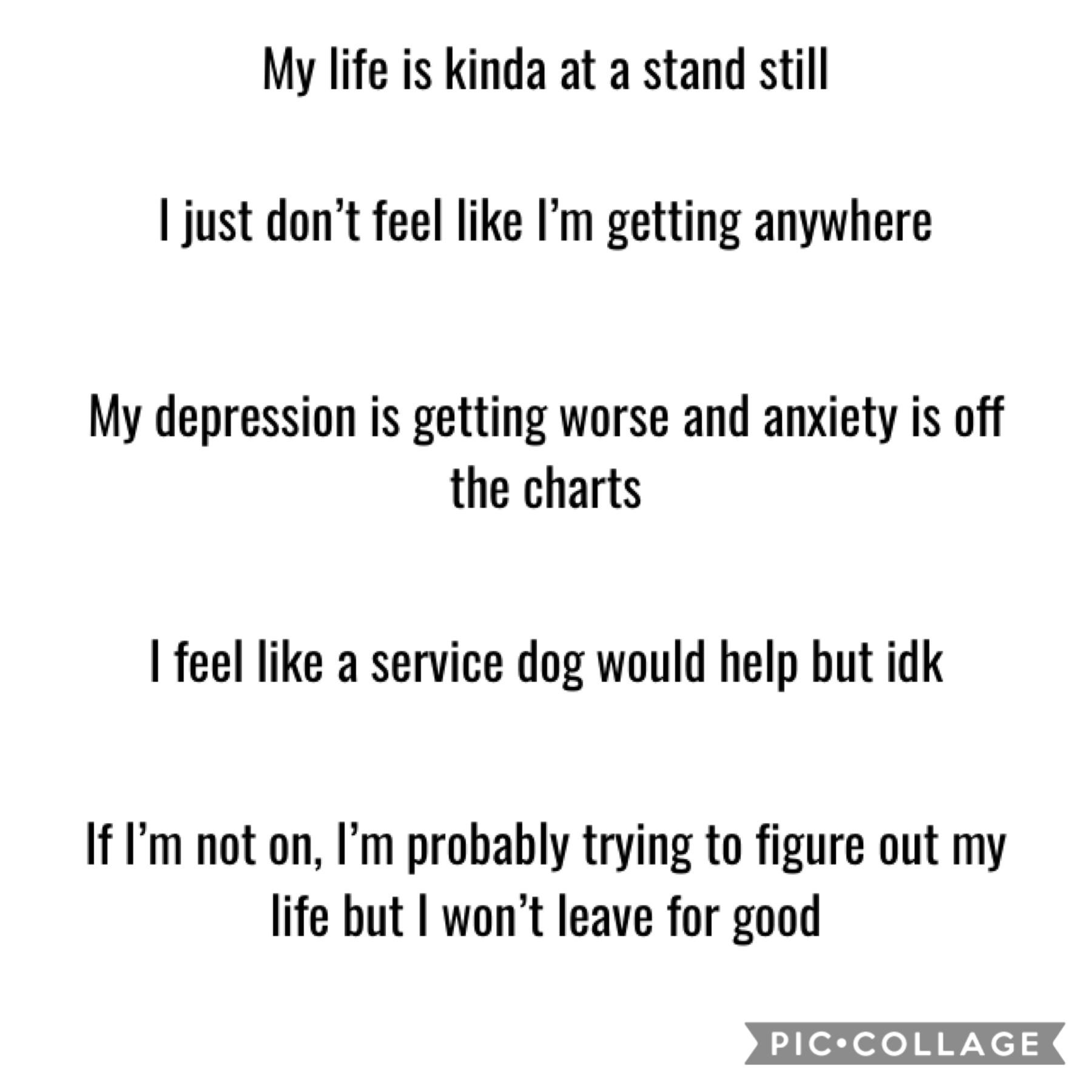 My life...🙁 depression sucks