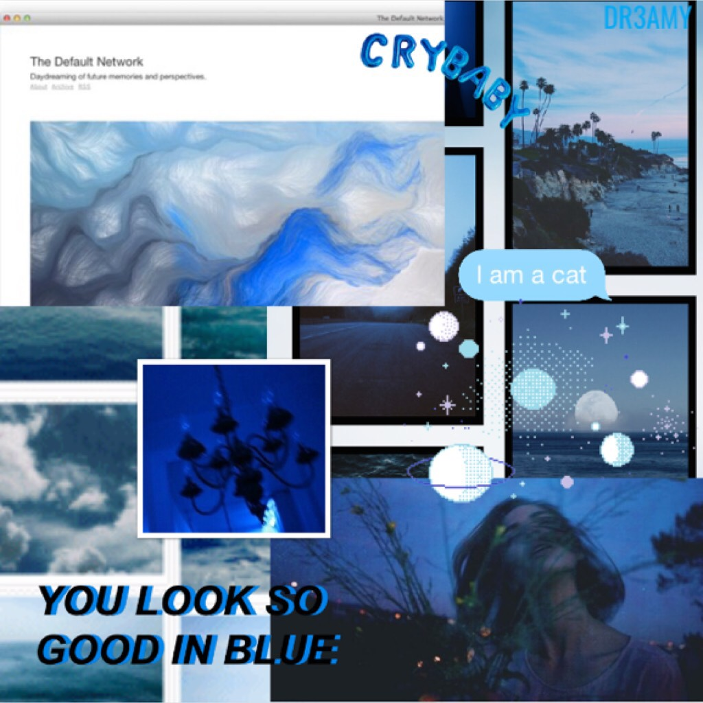 👣Tap👣 This is the blue theme! If u want, tell me some theme for some collages and I'll do it! Bye, Lu💋