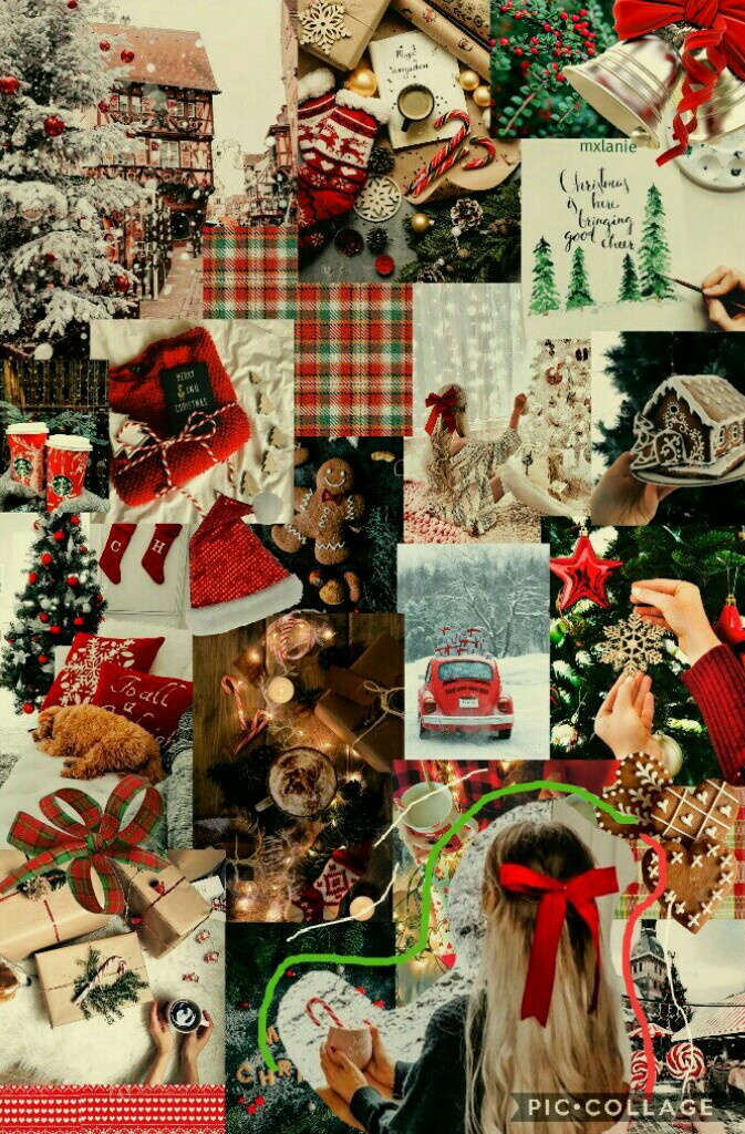 🎄⛄happy holidays⛄🎄 ❇DECEMBER 17 2020❇ hi, I made a christmas collage, it's sort of basic but i think i sort of like it? different from my usual style so that was fun. i hope ur mood has been better lately especially during all these festivities 😁🎁 - melan