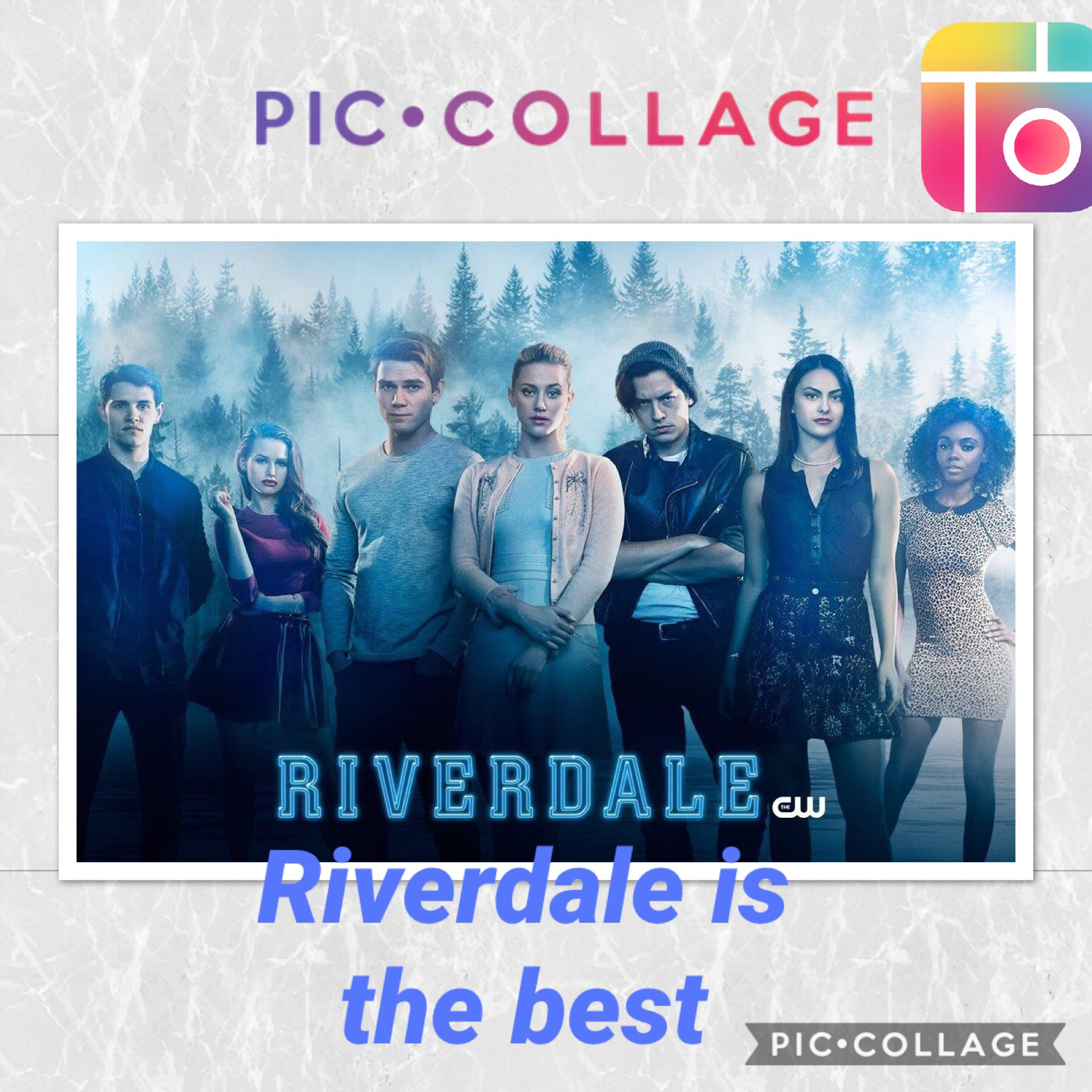 I love Riverdale it is the best and my favorite couple is Betty and jughead follow my account please!!!!!!!!!❤️💕❤️