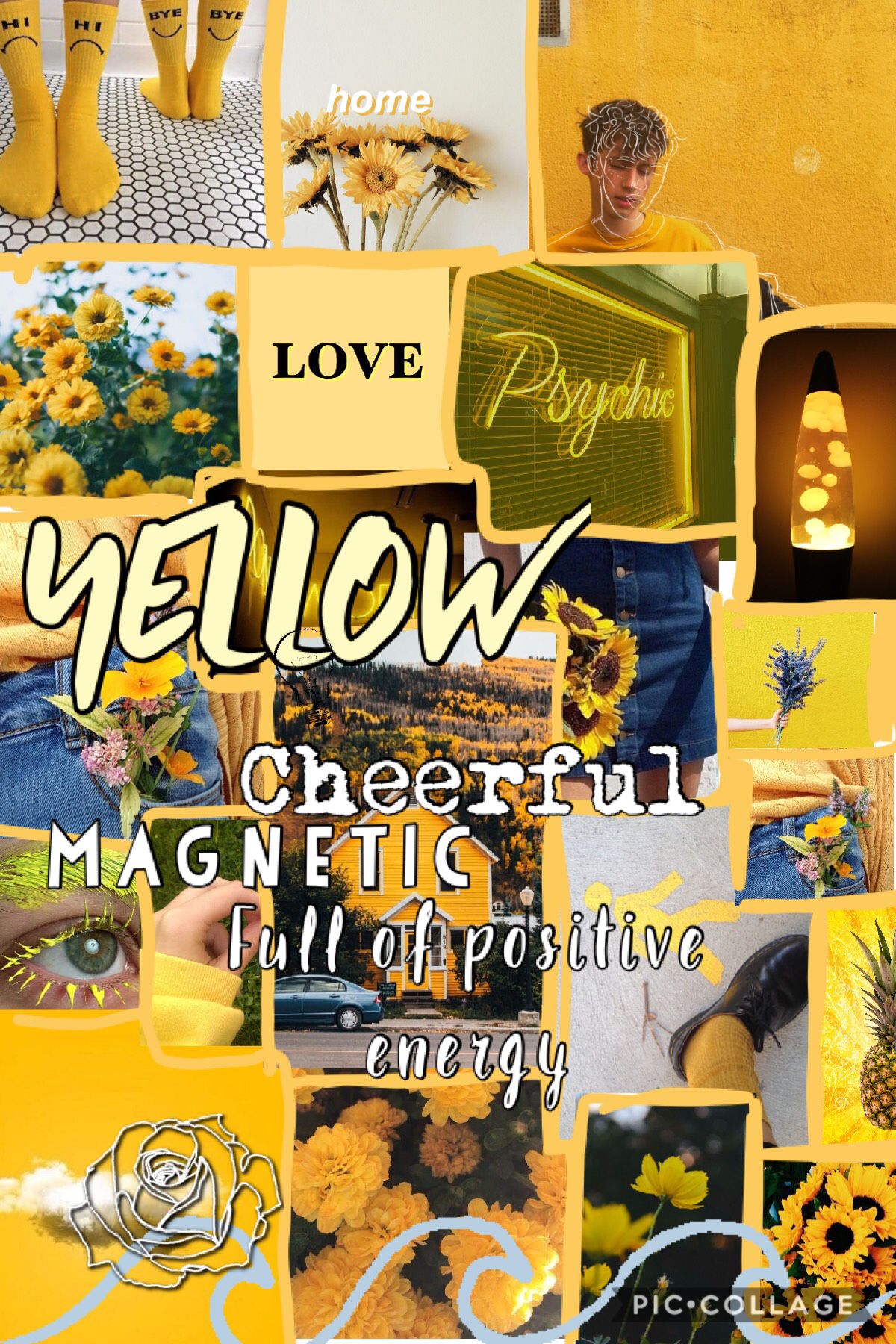 YELLOW......  cause who doesn't love that colour ? Made this with my best friend ania when we were having a sleepover together  Who also has an account @turtles21289 go follow her 😇