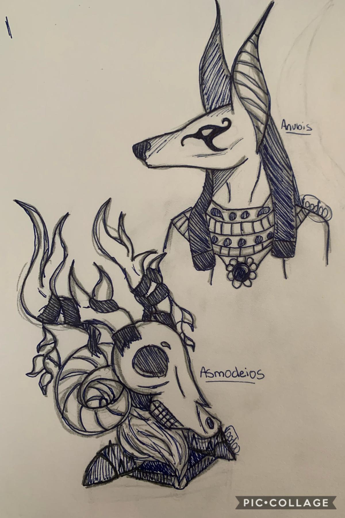 Quick doodles I did