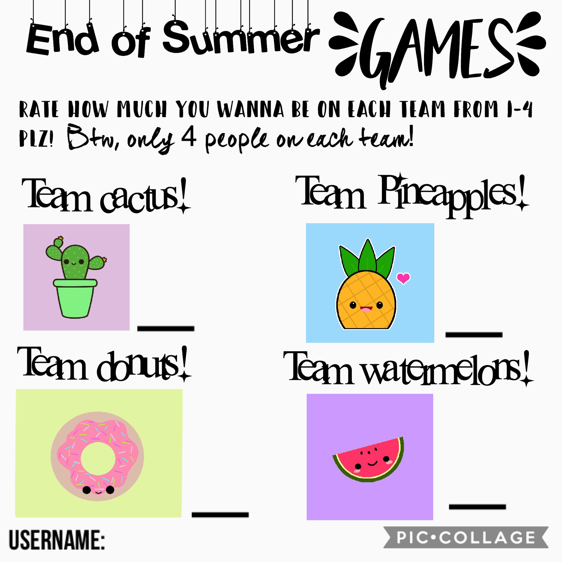 ⛅️Tap⛅️ End of Summer games! Enter quick before the chances are gone!