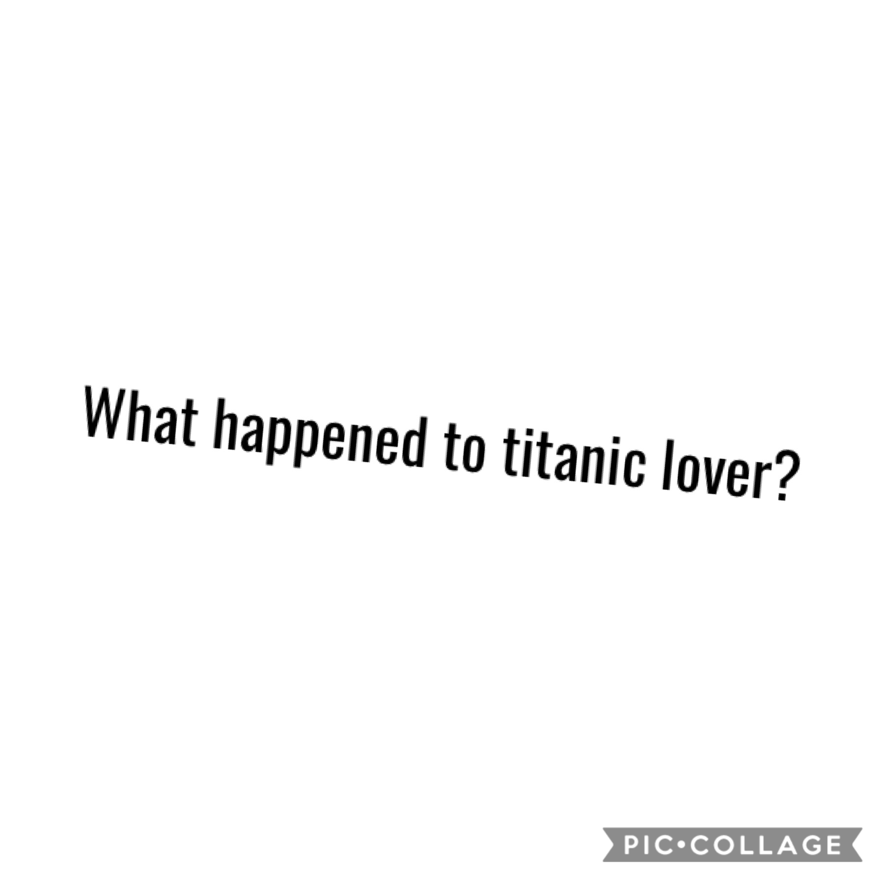 Does anyone know?
