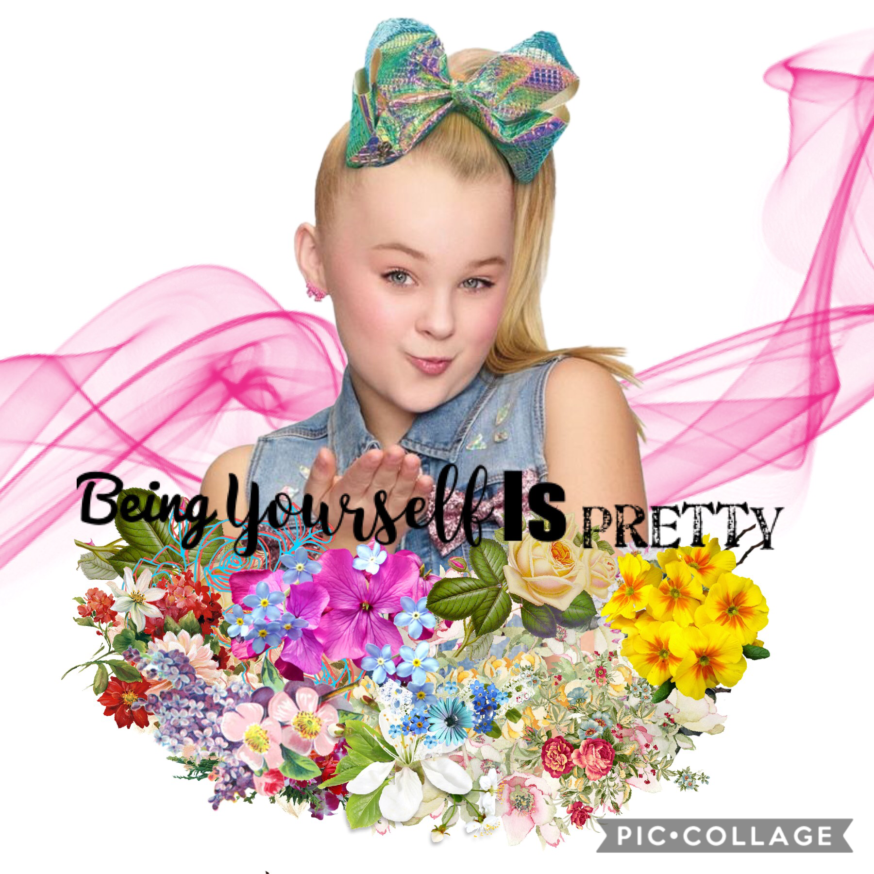 Tap   QOTD: which emoji 🌼 or 🦋 AOTD: 🌼 This collage is inspired by foxygirl22  Sorry I haven't been very active it was because of school and homework also have a great day!❤️