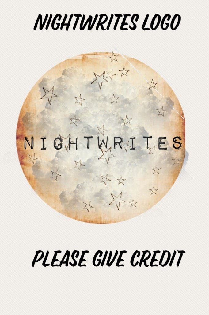 Information:  NightWrights Logo Only If you want a logo made,  Please fill out my form  💜