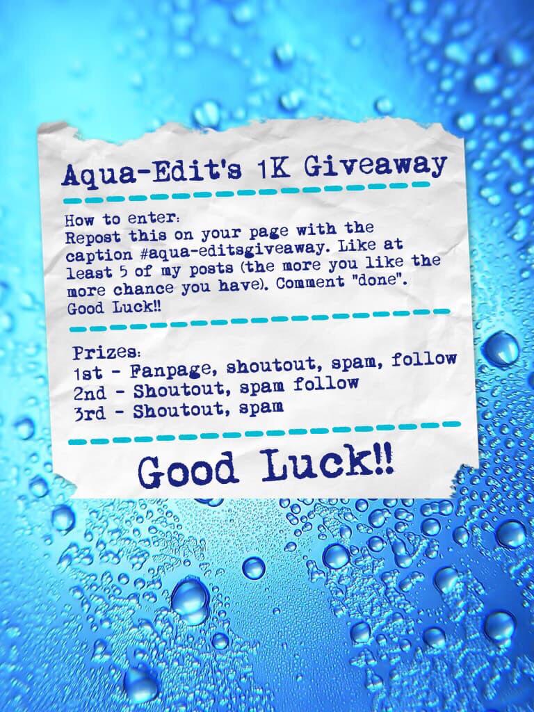 #aqua-editsgiveaway