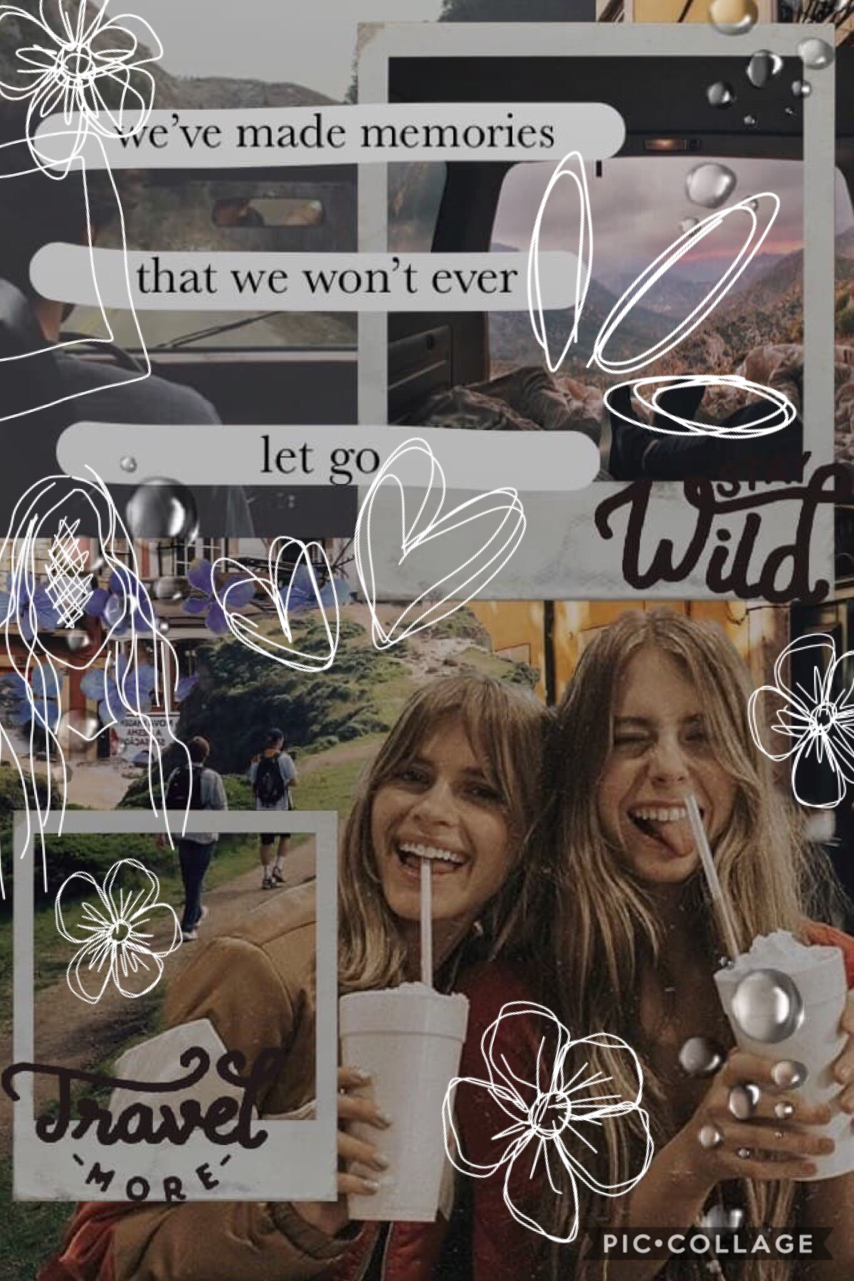 tap hello only one more week of school and then i am officially in high school 😱 Anyways, QOTD: What do you like most about pic collage? AOTD: for me, pic collage is all about expression and creativity
