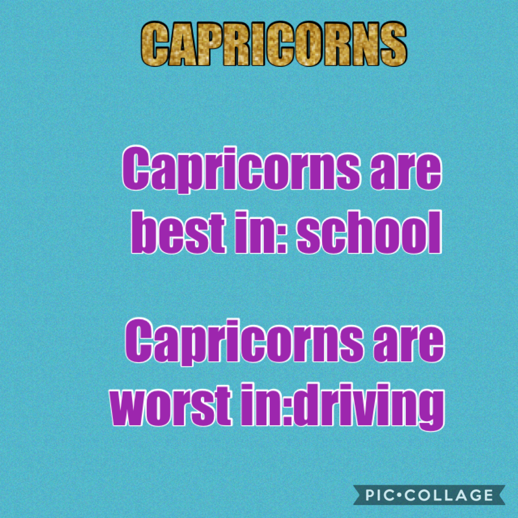 I am a Capricorn and I want to tell you about capricorns