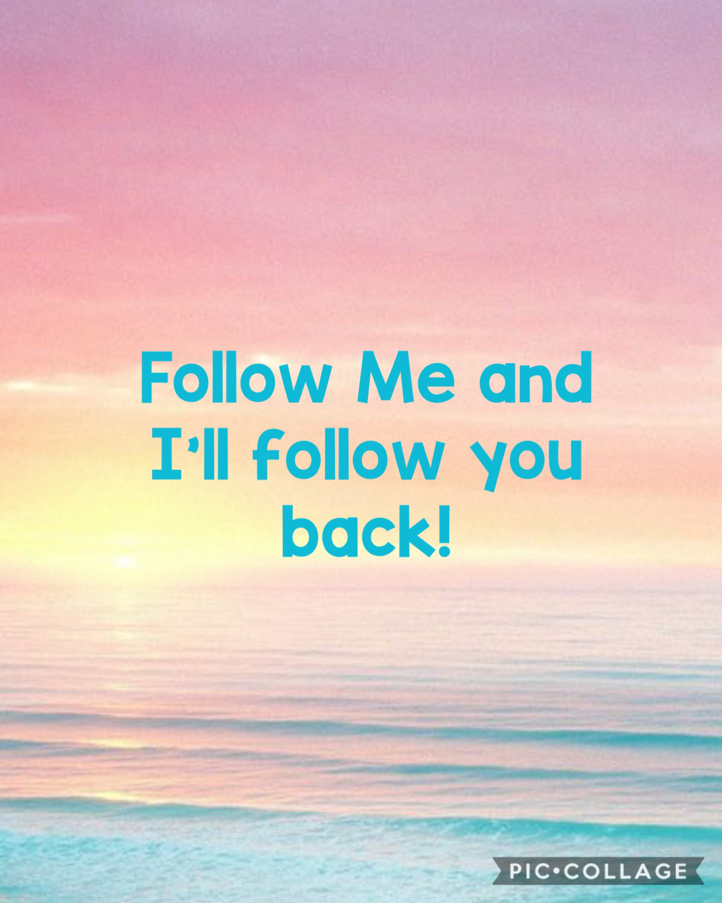 Follow me and I'll follow you back!
