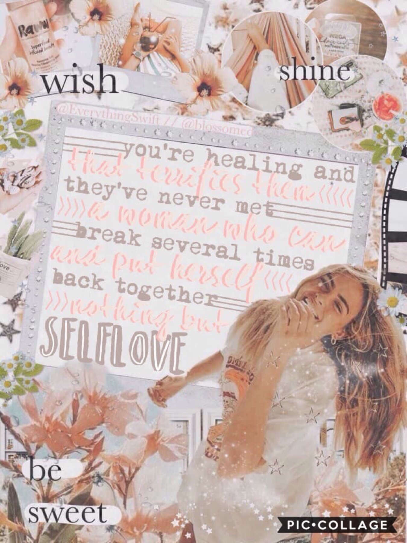 c o l l a b   w i t h   t h e   o n e   &   o n l y . . .  @EverythingSwift, aka Abby !! Abby is so kind and amazing 💖 she's soo good at making collages ⭐️ Abby did the text and I did the BG go follow her NOW !! 🌸💦