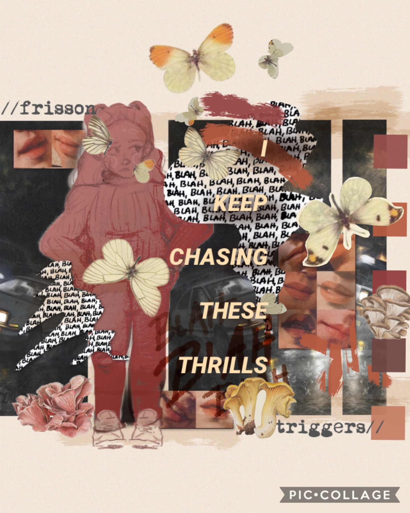 IFL FRISSON TRIGGERS I have a whole playlist of songs that trigger frisson ••• Feat. a lil self portrait of meeee it don't really look like me, she do be wearing my clothes doe ••• I was gonna our this in a series but then my other ideas fell apart so may