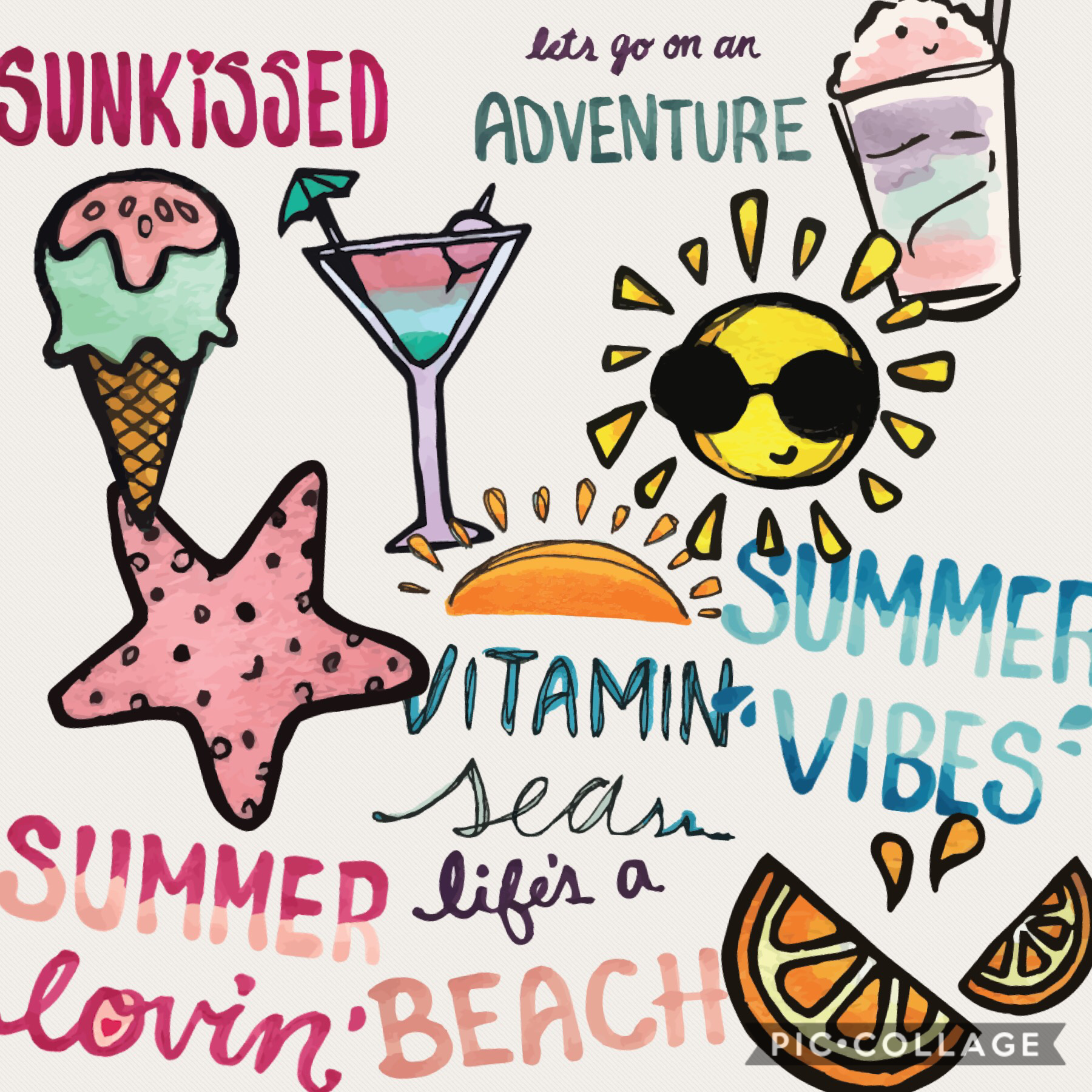 Cool Sumer love I want summer to be back