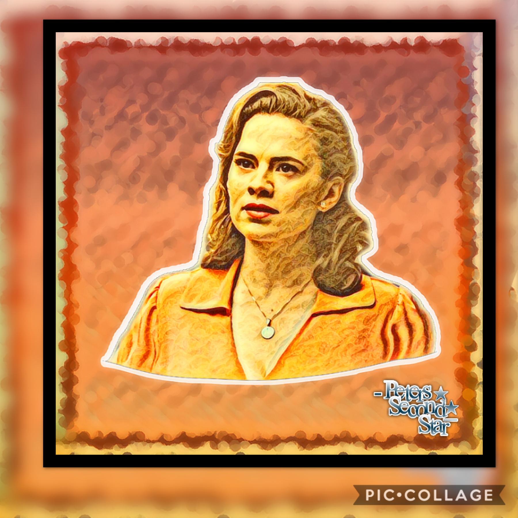 Tapp!!  welp since everyone seems to want an edit of Peggy, well here you go lol 😂👏🏻!!!!!   Rate/10💛🧡