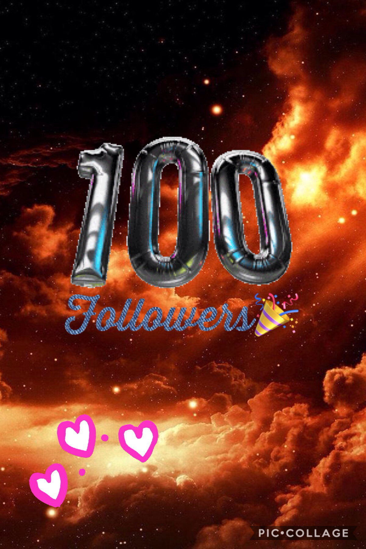 Thank you so much for those 100 followers