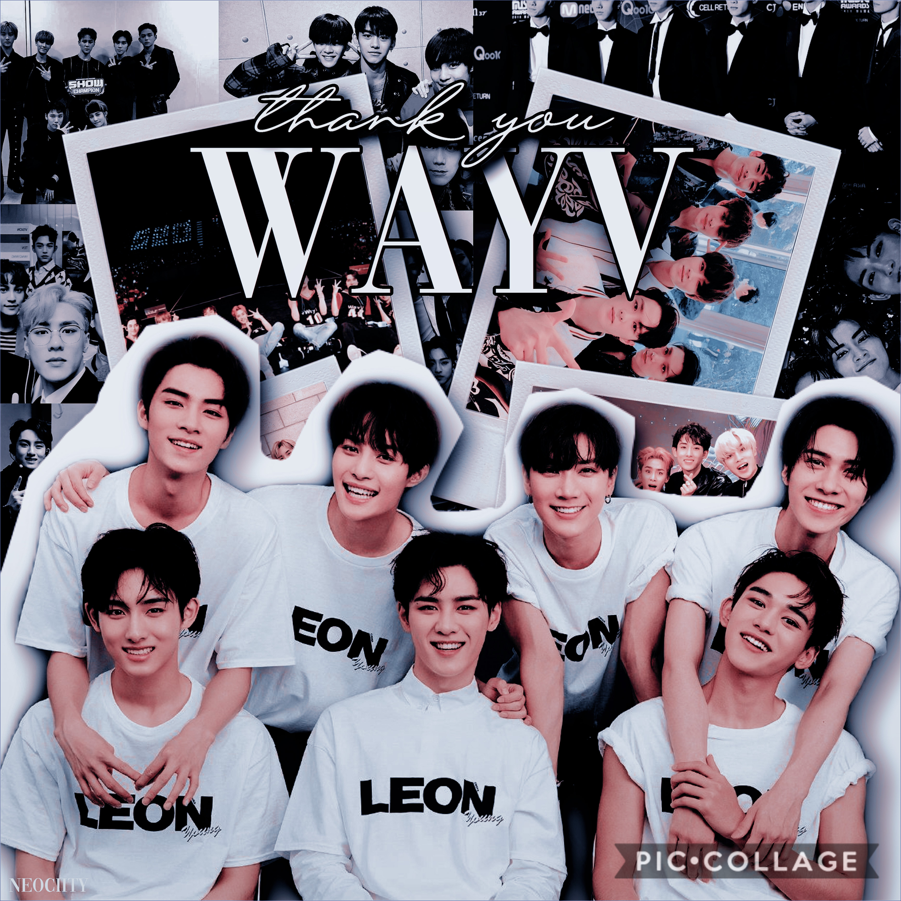 happy one year wayv!! sorry im a little late haha  follow me on Instagram @neociity and subscribe to my yt too :)