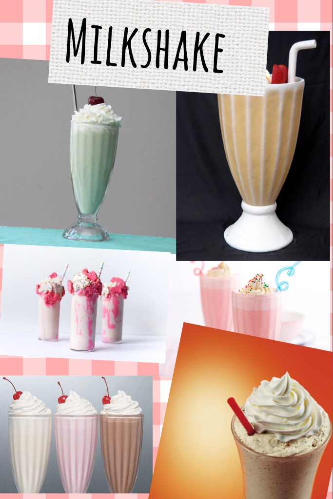 Comment on what is your fav milkshake flavour