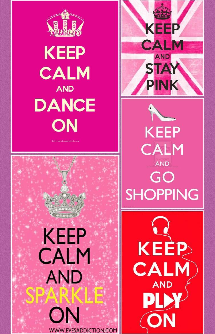 i love keep calm posters