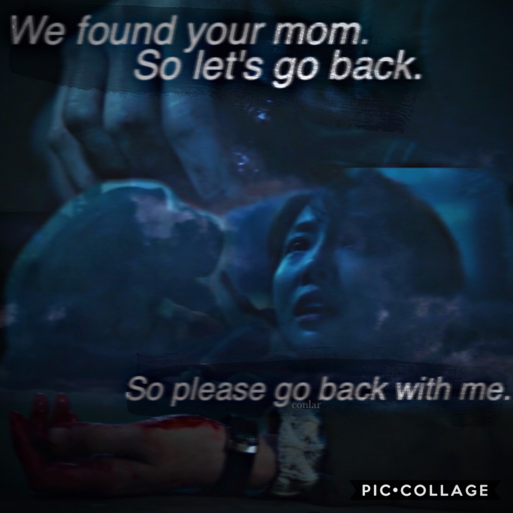 this was a last minute collage, so sorry if it looks bad. i started to remember this show...and i got so sad. these are the last words she says before she sadly dies in this tv show. she died in the arms of the guy she loved...and i cried so much. i'll ma