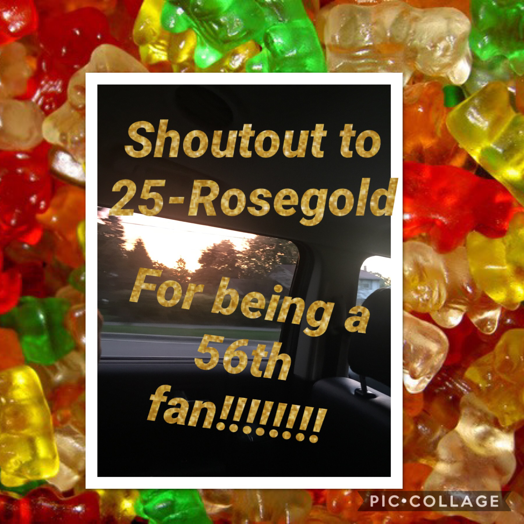A shoutout to 25-Rosegold