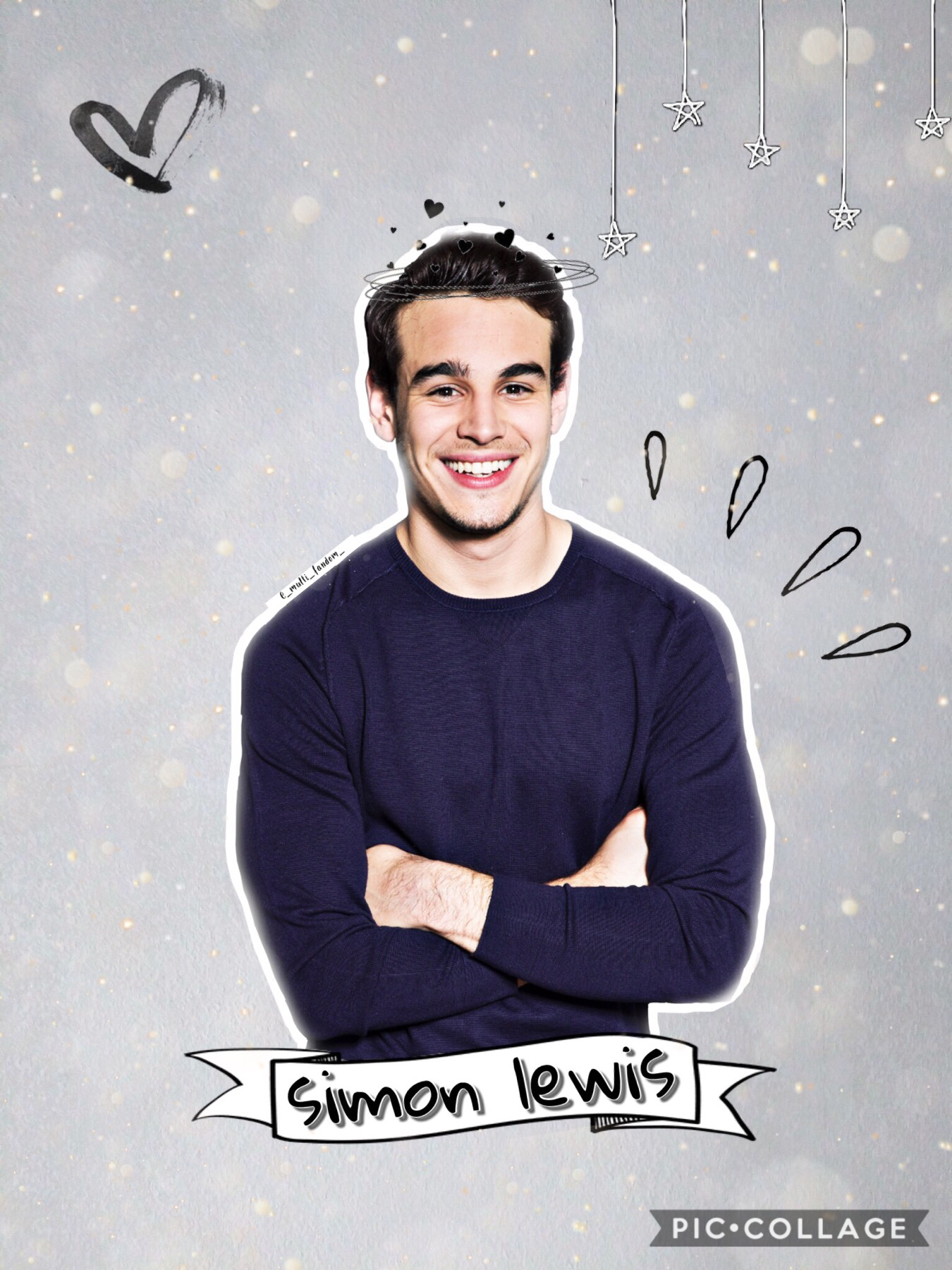 Simon Lewis from shadowhunters 💞