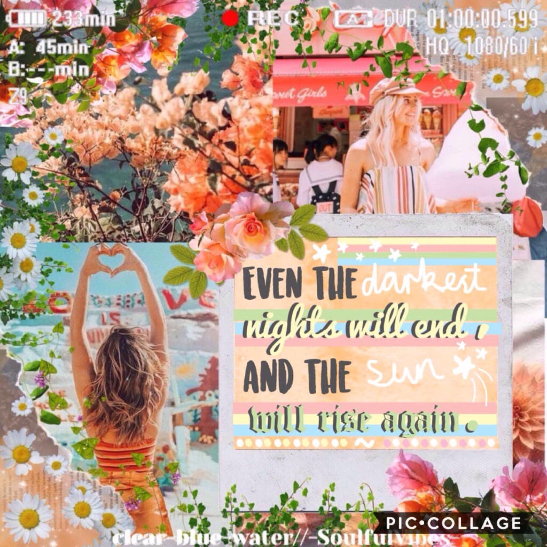 🌿T A P🌿 Collab with the amazing -SoulfulVibes-! She did the gorgeous text and I did the background. QOTD: What are your five most recent emojis? AOTD: 🌿💕💙🌊😂