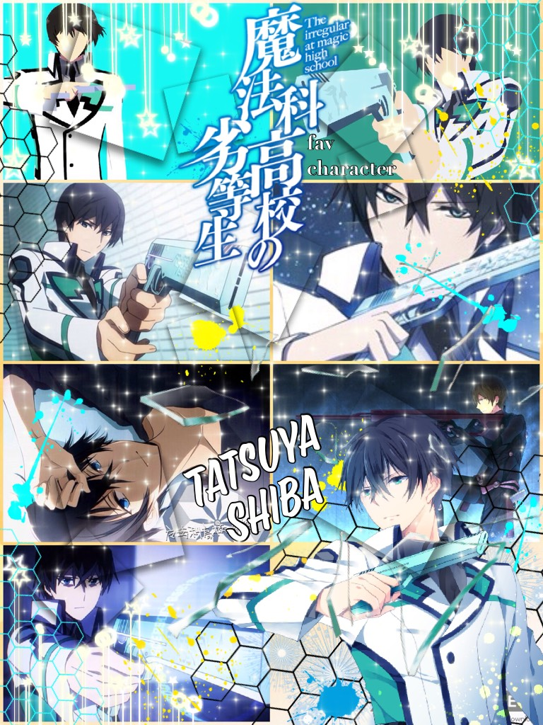 Fav character series: The Irregular at Magic High School - Tatsuya Shiba