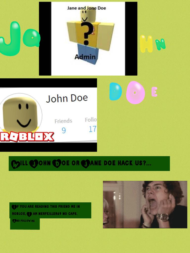John Doe...
