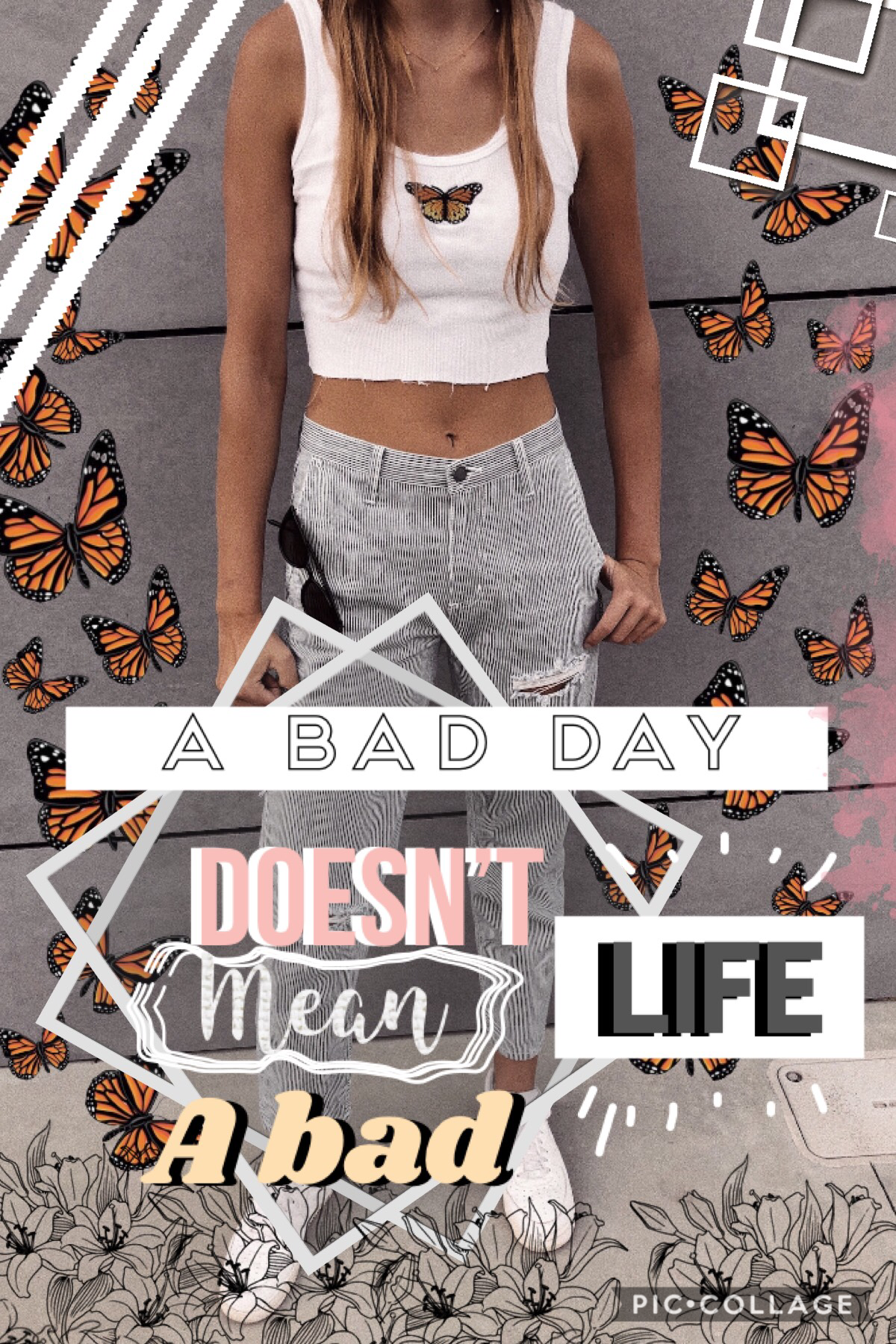 🦋Tap🦋 So as you can see I had a super bad day today lol just a reminder to keep it chill ❤️ everything will be ok