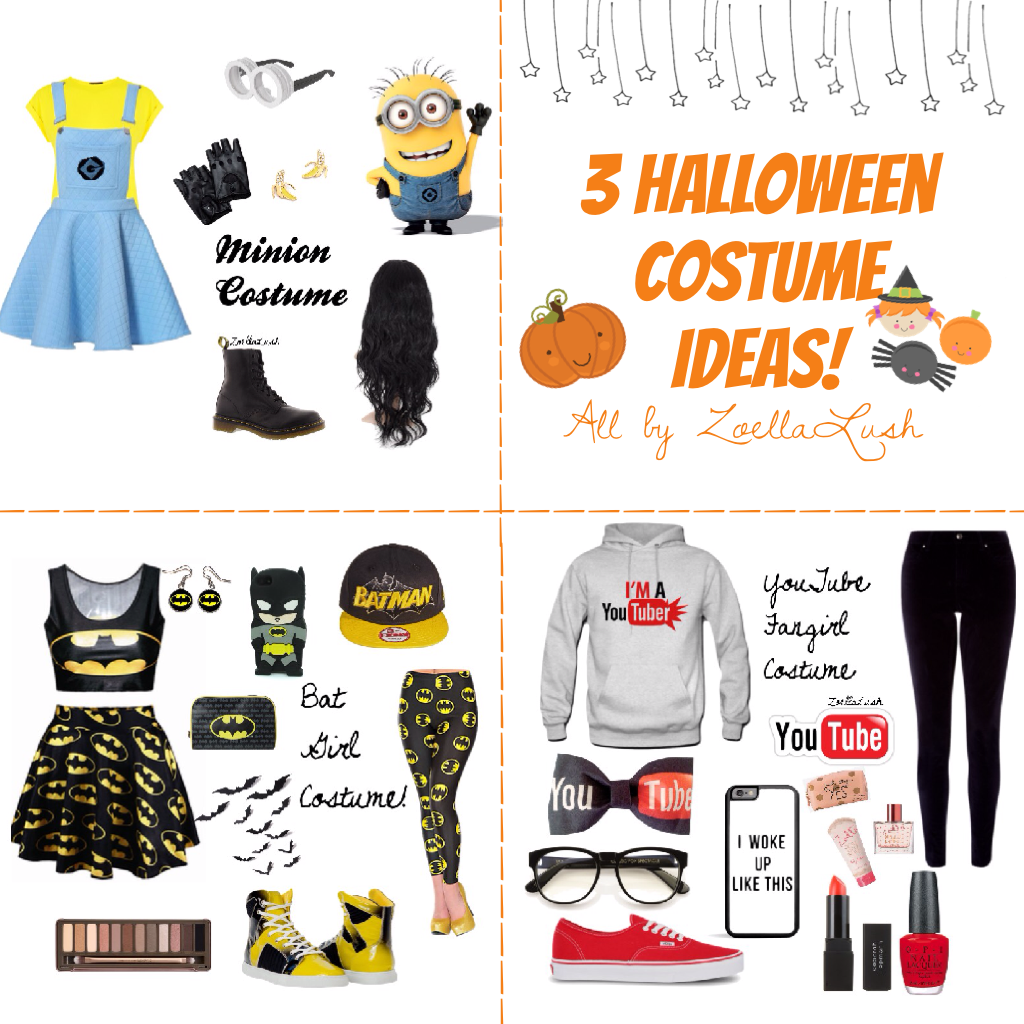 3 Halloween Costume Ideas! ~Day 3
