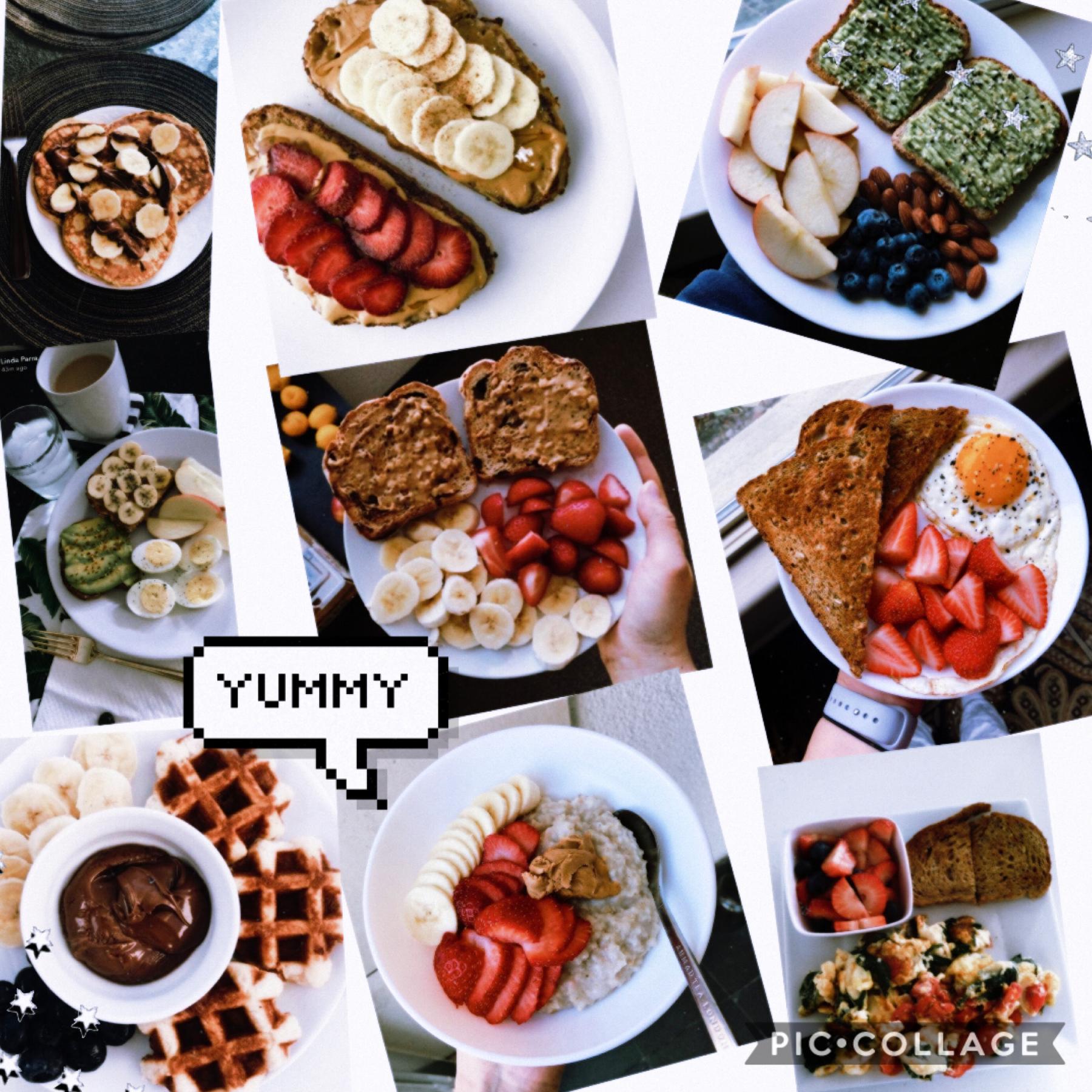 breakfast inspo✨