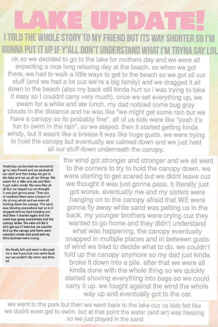 🌊☁🍃😬 sorry this is really long! I tried to post this a little while ago but it didn't work so hopefully it works this time