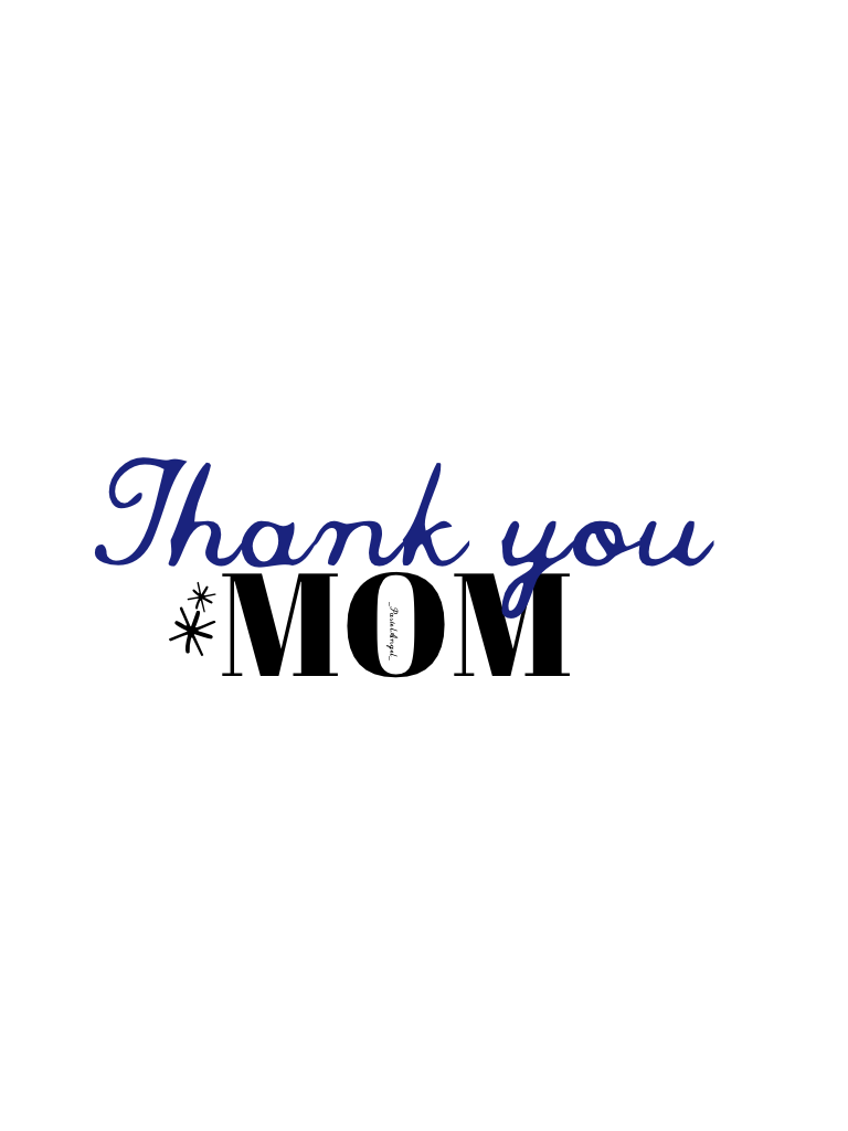 thanks. Happy Mother's Day 💕✨