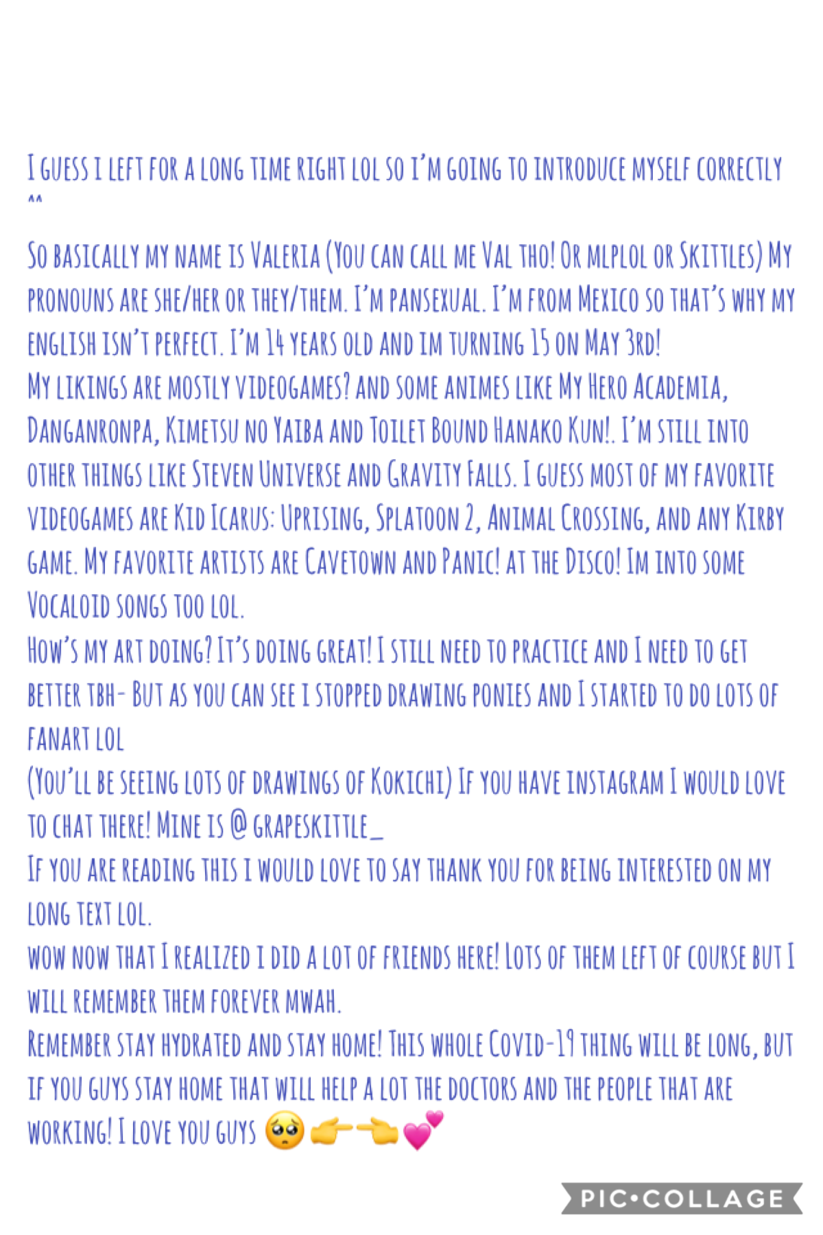 Part 2/2. If you took your time to read this whole time i love you mwah 😔
