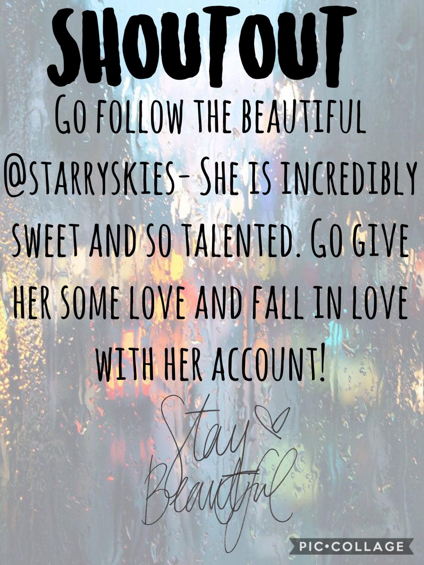 Go follow her!