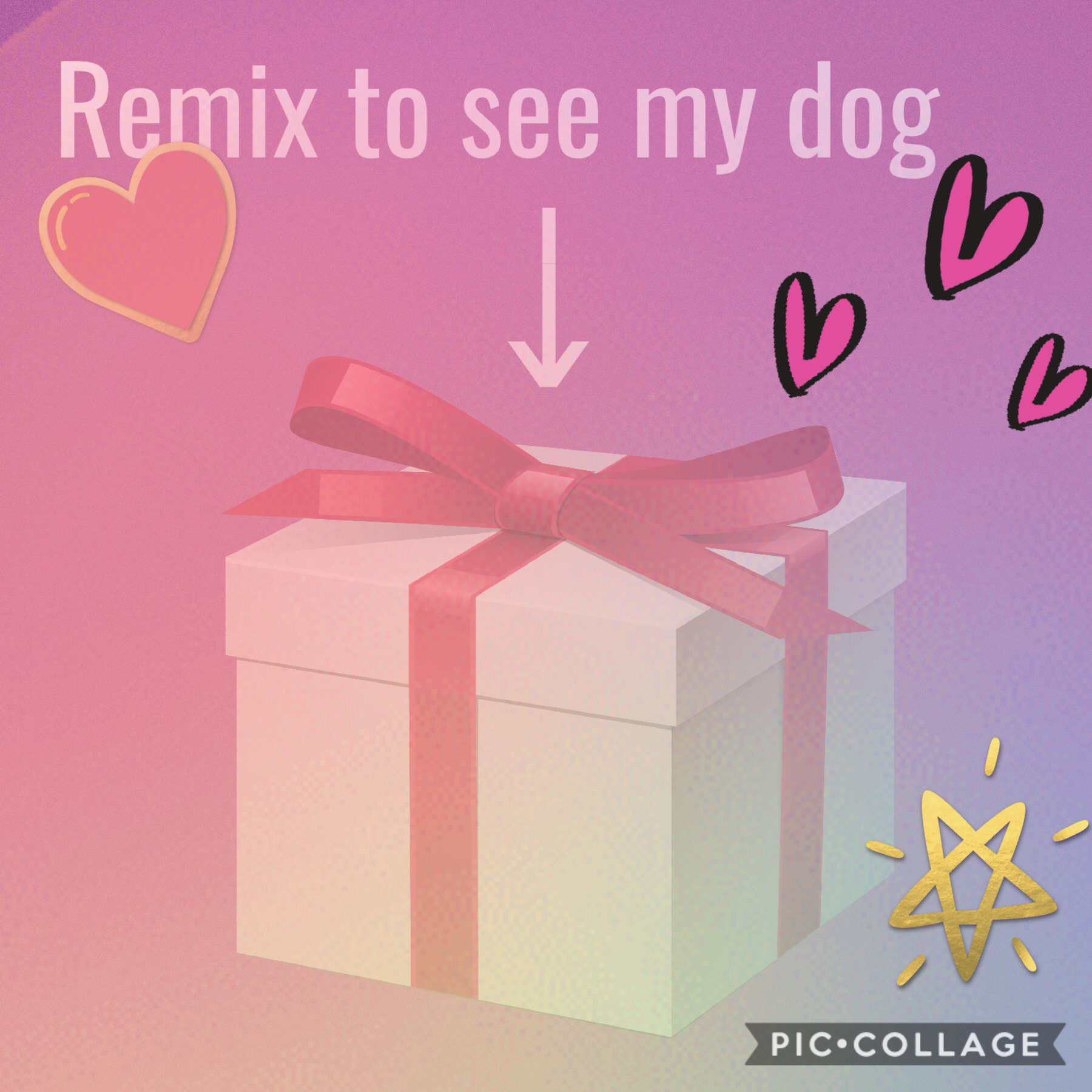 Remix to see my dog!