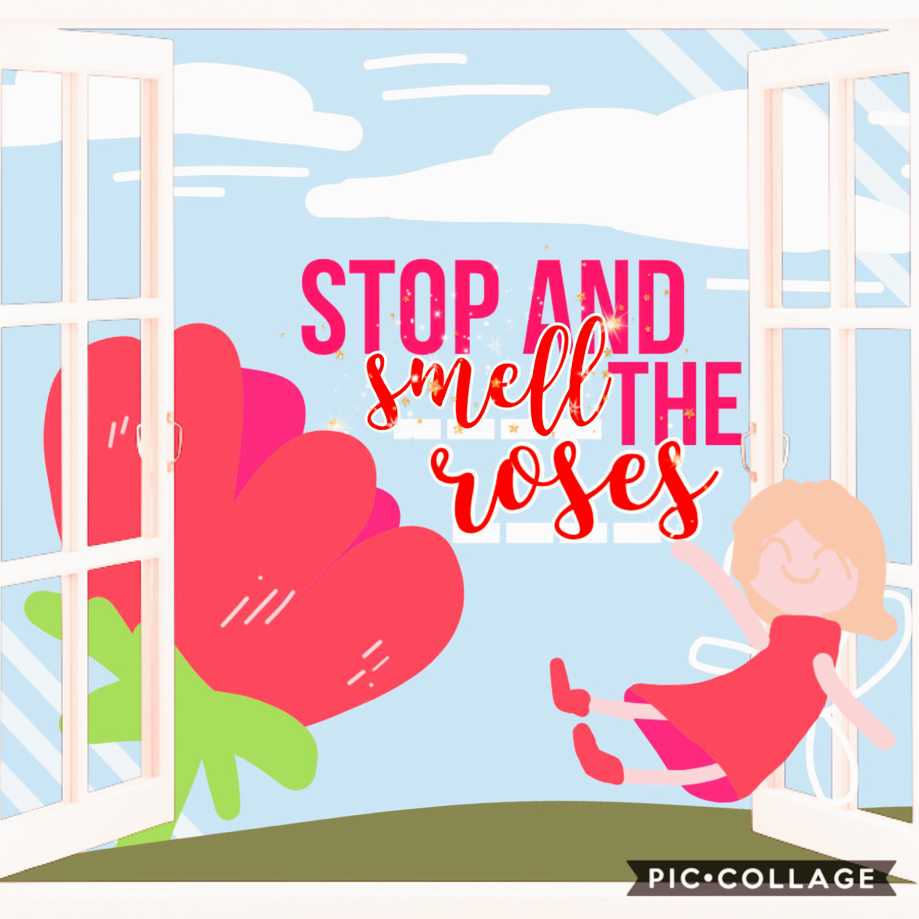 (Not part of ongoing theme) Tap!!  Wanted to do something simple and cute so... this happened :)  My entry to l0vedflower's 1k contest! Y'all should definitely go and join it  /≧▽≦)/  Will return to my ongoing theme & style soon!  Qotd 🔽🔽