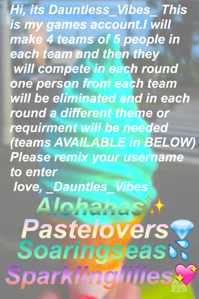 Please join prizes will be given 1-4 place are available ✨💦💖💎