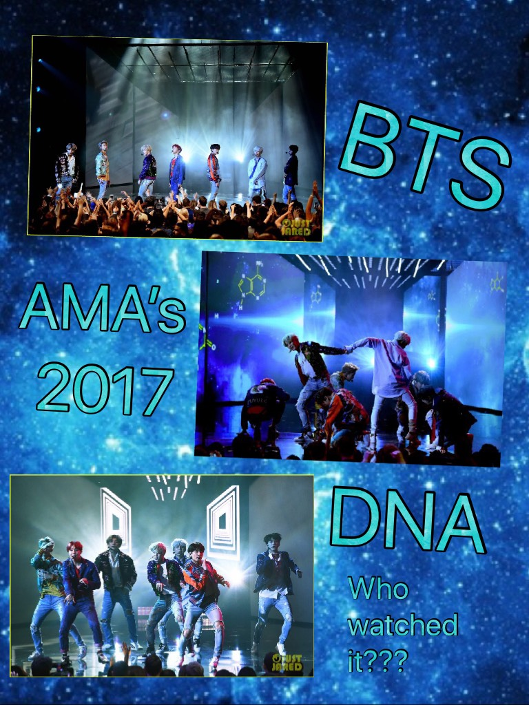 Who watched BTS preform at the American Music Awards??? Remember to follow meh
