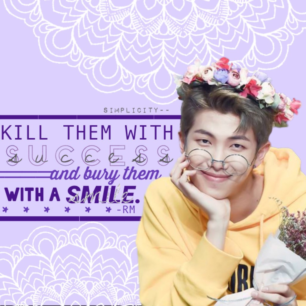 RM from bts 💜 Does anyone stan any other kpop groups? Heh I love Seventeen, Got7, Gfriend, Twice and Black Pink (*≧ω≦)