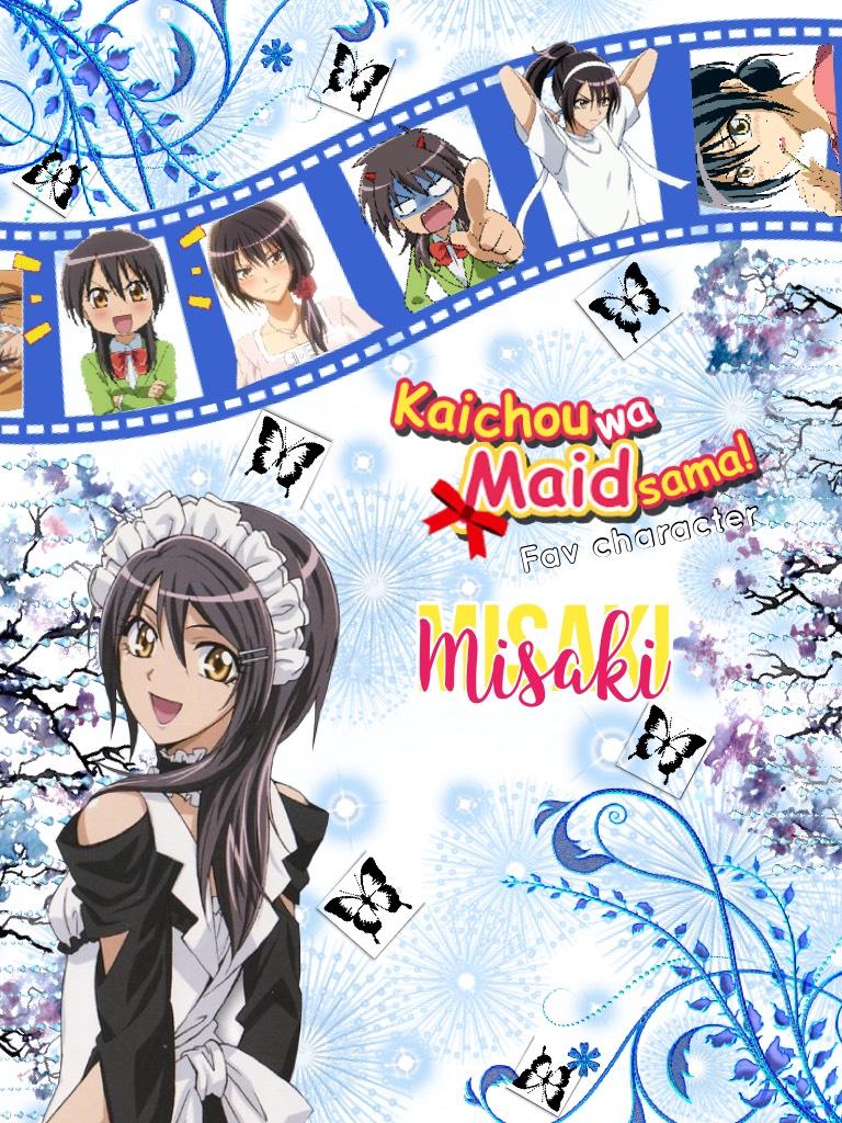 Fav character series: Maid Sama - Misaki