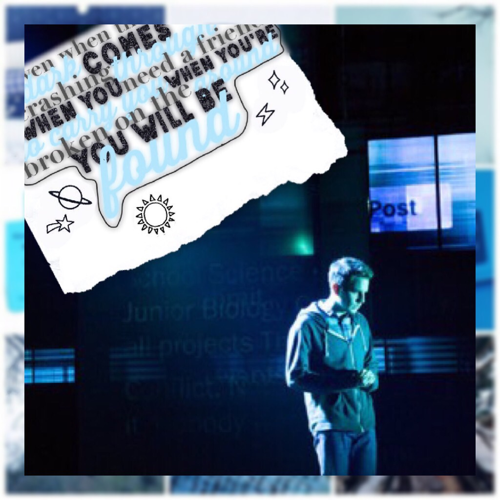I actually kinda like this :)) quote from dear evan hansen (yes another musical)