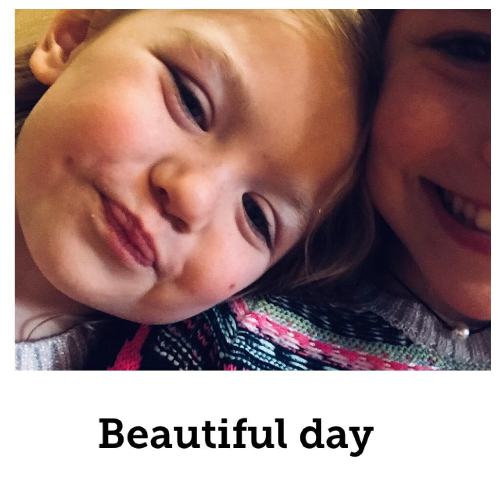 Beautiful day❤️ happy Sunday❣️ I love this little pumpkin( she calls herself Jojo Siwa
