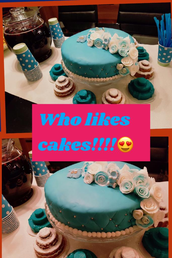 Who likes cakes!!!!😍