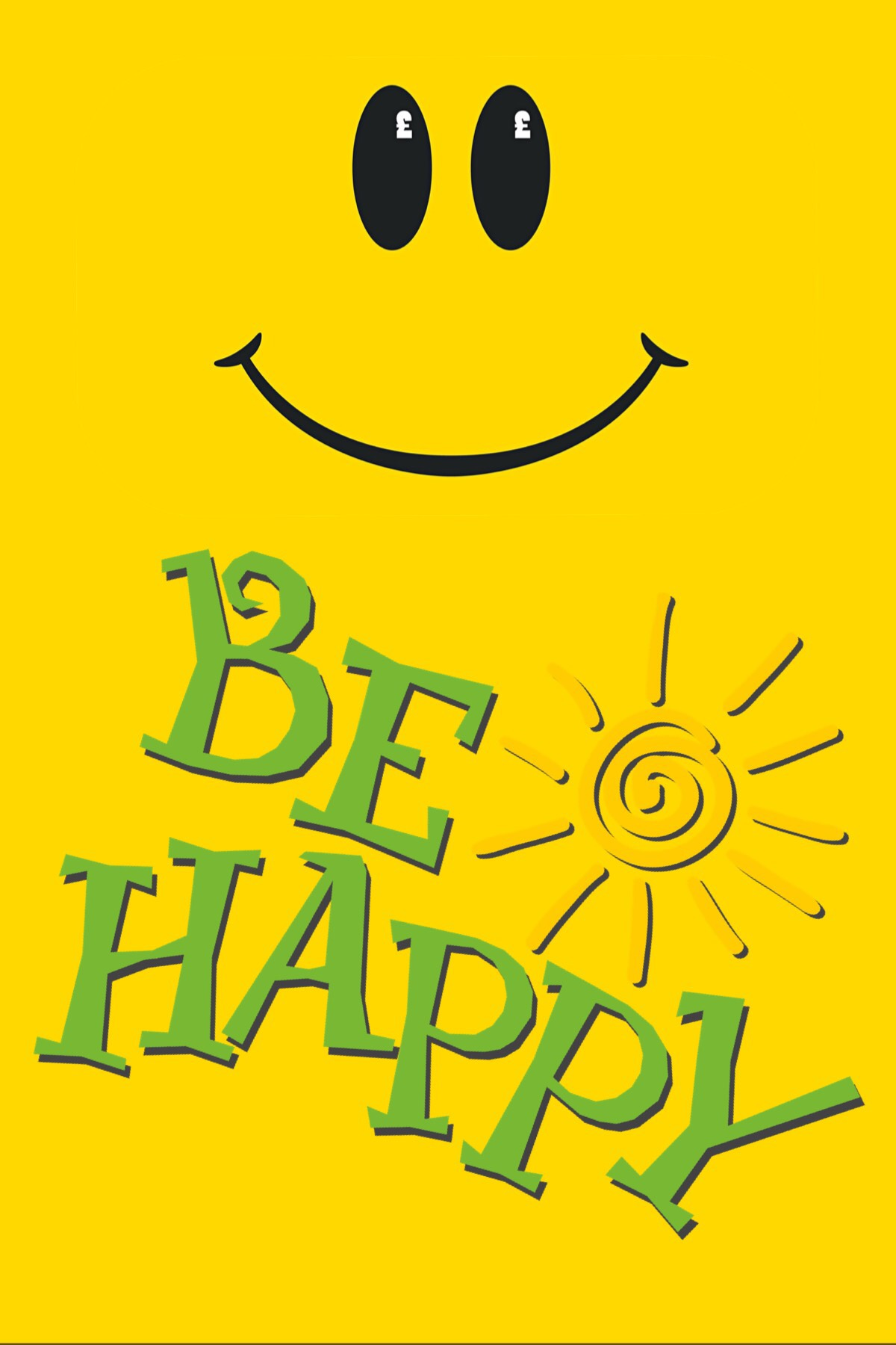 Just be happy!😁